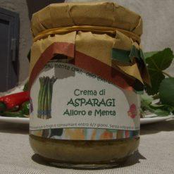 Crema di Asparagi , Alloro , Menta.