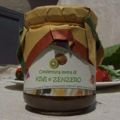 Confettura extra di Kiwi e Zenzero.