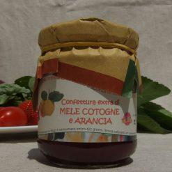 Confettura extra di Mele Cotogne ed Arancia.
