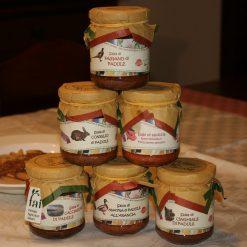 Conf. 6pcs Sughi Cacciagione : Fagiano , Coniglio , Salsiccia , Coniglio , Anatra , Cinghiale.