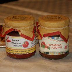 Conf. 2pcs Pomarola Toscana / Salsa di Pomodoro piccante.