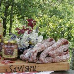 Salsiccia passita di suino cinto Toscano