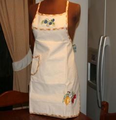 Grembiule cucina donna puro cotone
