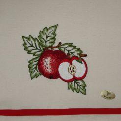 Canovaccio misto lino mele