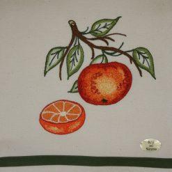 Canovaccio misto lino arance