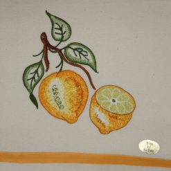 Canovaccio misto lino Limoni