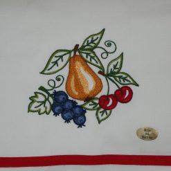 Canavaccio misto lino frutta