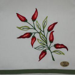 Canovaccio misto lino peperoncino